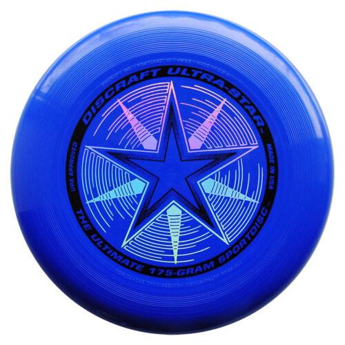 BLUE Frisbee discraft ultra star 175g disc ultimate