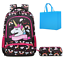 School Backpack Set Girls Unicorn with Pencil Bag 2 in 1 Sets Kids Bookbags for
