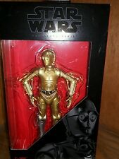 "Hasbro Star Wars Black  6""  WALGREENS EXCLUSIVE C-3PO"