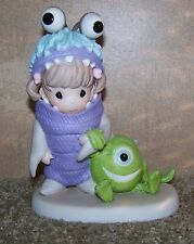 """Precious Moments Disney Monsters Inc. """"What Would I Do If I Didn't Have You"""" 101"""
