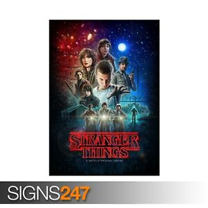 STRANGER-THINGS-ZZ005-Photo-Picture-Poster-Print-Art-A0-A1-A2-A3-A4