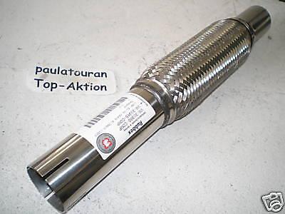 Flexrohr Auspuffrohr flexibel flex Rohr 48 x 44,5 x 408