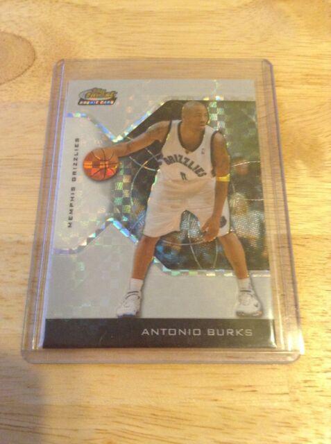 Antonio Burks Trailblazers 2004-2005 Topps Finest Xfractor Rookie #155 189/199
