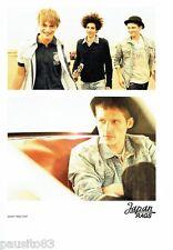 PUBLICITE ADVERTISING 116  2011  Japan Rags  pret à porter homme jeans chemises