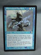 MTG Magic the Gathering Card X1: Raven Guild Master - Scourge EX/NM