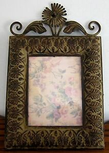 Rustic Primitive Style Picture Frame 17 X 11 Glass Opening 6 12