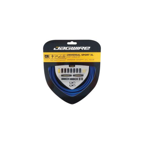Jagwire Universal Sport Shift XL Cable Kit Blue