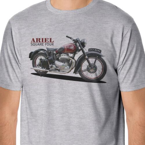 Retro Bikes Classic Ariel Square Four Inspired T-Shirt