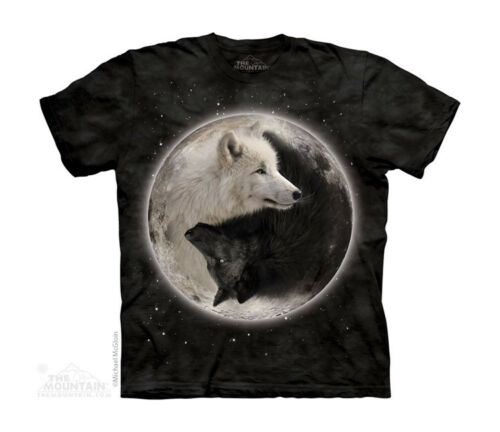 New YIN YANG WOLVES YOUTH CHILD  T SHIRT