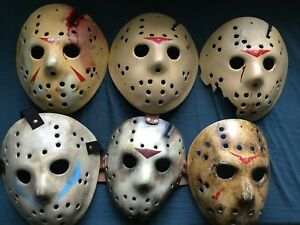 Halloween Hockey Mask | Custom Jdf Jason Voorhees Friday The 13th Halloween Hockey Mask Made