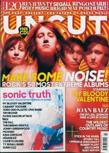 Image Is Loading UNCUT Magazine March 2018 My Bloody Valentine Joan