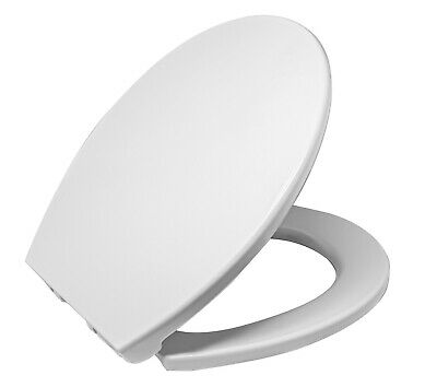 Libra Heavy Duty Round Front Soft Close Toilet Seat Cover Push To Quick Release Ebay