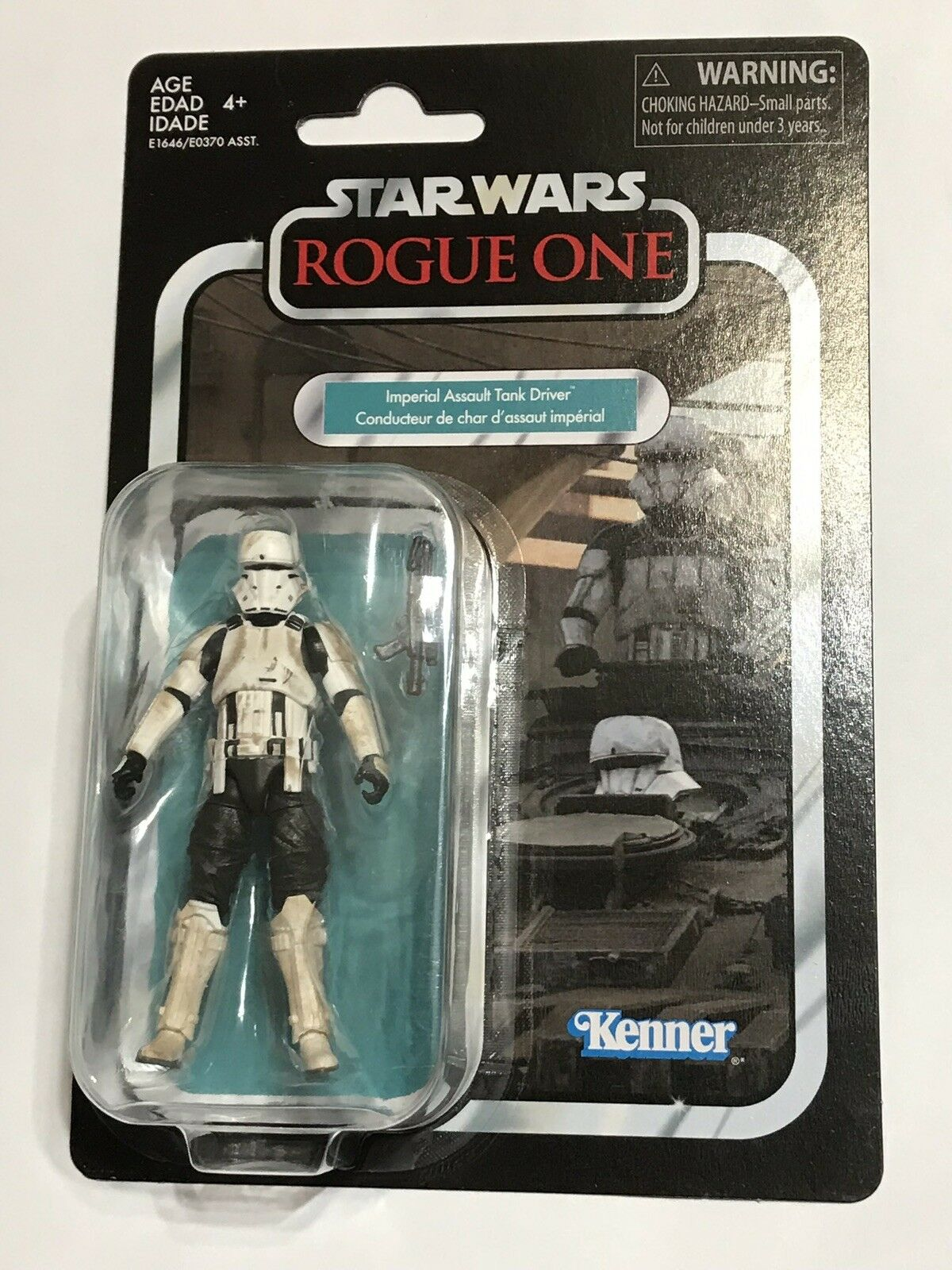 2018 STAR WARS VINTAGE COLLECTION ROGUE ONE  IMPERIAL ASSAULT TANK DRIVER  NEW