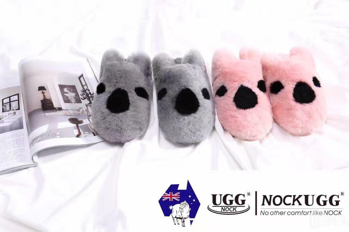 Ugg Sheepskin 100% Wolle Scuff Slippers Australian Damen Herrengröße 35-42EU