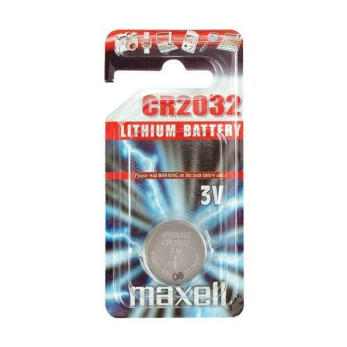 Coin Lithium Cell Batteries DL CR 1216 1220 1616 1620 2012 2016 2025 2032 MAXELL