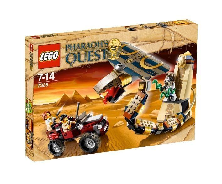 LEGO Pharaoh's Quest Verwunschene Kobra (7325), neu und OVP, ungeöffnet