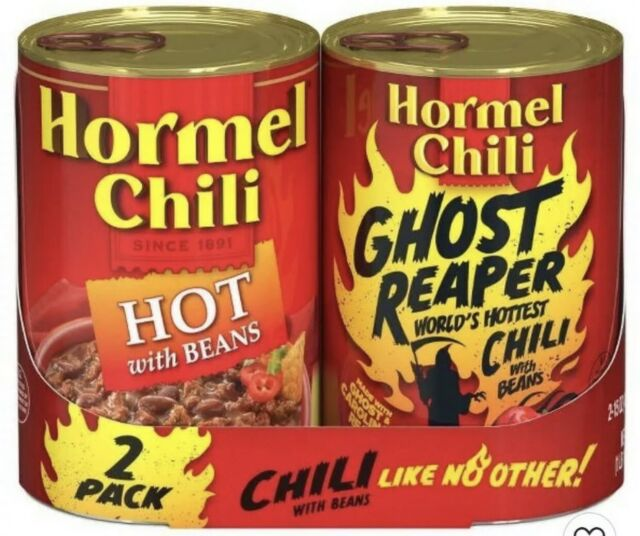 Hormel Chili Ghost Reaper Limited Edition Not Sold In Stores Sold Out