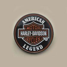 Harley Davidson Dylan Left Side Tank Emblem 62314-08 Bar And Shield