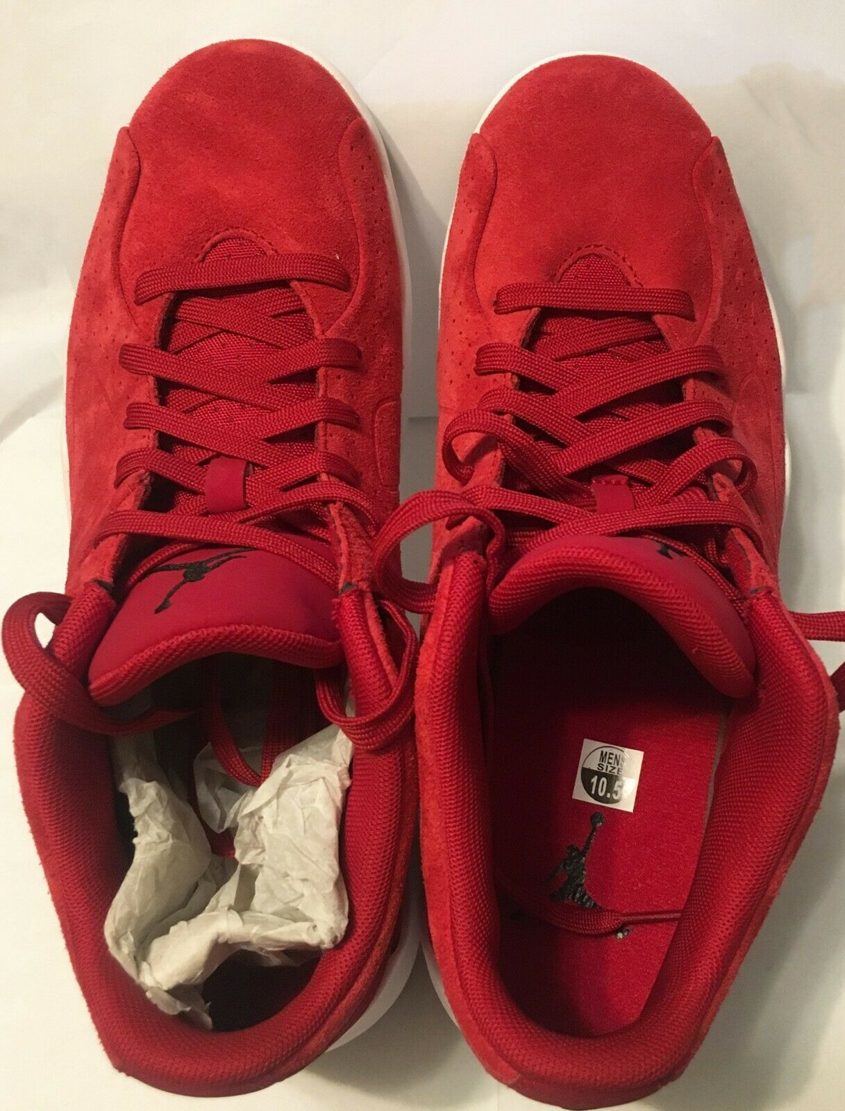 Jordan Men's shoes Red New without Box US 10.5