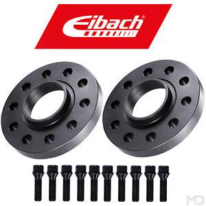 EIBACH Spurplatten Spurverbreiterung 15mm SchraubenSILBERBMW 3er E36