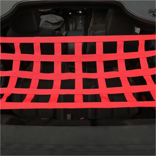 Mesh Cargo Net Auto Roof Net Hammock Rest for Jeep Wrangler YJ TJ JK JKU JL JLU
