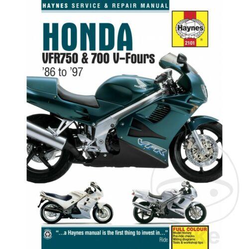 Sonstige Honda VFR 750 F 1993 Haynes Service Repair Manual 2101 ...