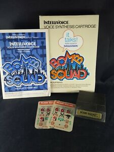 Bomb-Squad-Intellivision-1982-Complete-In-Box-Excellent-Video-Game