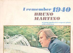 BRUNO-MARTINO-disco-LP-I-REMEMBER-1940-made-in-ITALY-1972