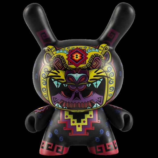 "Kidrobot x Jesse Herneez 5 Cosmic Jaguar  Dunny 5.11"" x 4.13"" x 6.69  nuovo  acquistare ora"