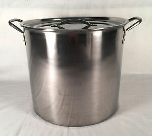 5 Gallon Stainless Steel Stock Pot Brew Boiling Kettle