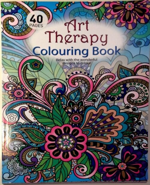 Art Therapy Colouring Book Adult Anti Stress