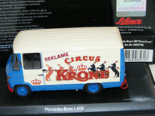 1/43 Schuco Mercedes L 408 Circus Krone  Limited to 1000 pieces