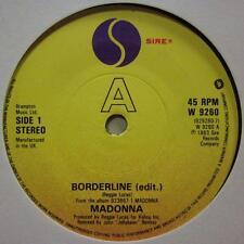 "Madonna(7"" Vinyl)Borderline-Sire-W 9260-UK-Ex/VG"