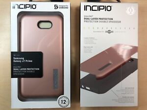 best service 759e0 8c17c Details about Incipio Dual-Layer Case for Samsung Galaxy J7 Prime in Rose  Gold / Gray