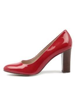 New-Diana-Ferrari-Lorikeet-Red-Womens-Shoes-Dress-Shoes-Heeled