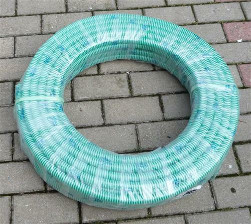 Ansaugschlauch   Druckschlauch grün 1Zoll   50m Rolle 1m  (5045