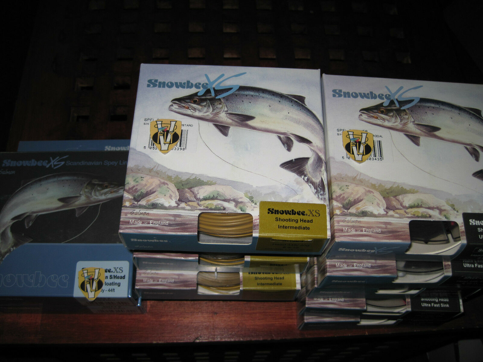 Sale Price Snowbee Scandinavian Shooting Head Spey Fly Lines All Options