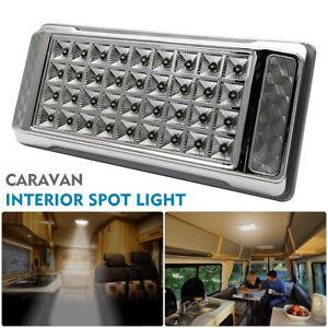 LED-Interior-Techo-Cabina-Lugar-Ligero-Coche-Caravana-Camper-Barco-Hazme-Lampara