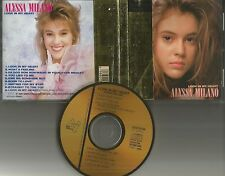ALYSSA MILANO Look In My Heart RARE 24K GOLD DISC CD w/ BONUS EXTENDED MIX 1989