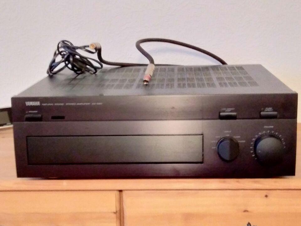 Forstærker, Yamaha, AX590
