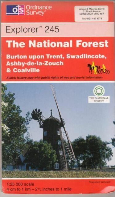 The National Forest (Explorer Maps) : Ordnance Survey