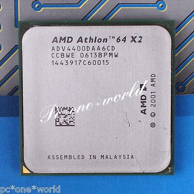 100% OK ADV4400DAA6CD AMD Athlon 64 X2 4400+ 2.2 GHz Dual-Core Processor CPU