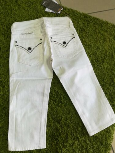 Pinocchietto Jeans Bianco Donna In 24 Guess Tg r0RqrAw