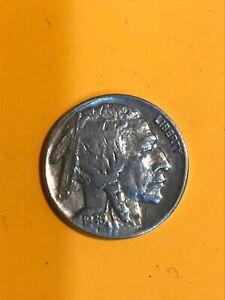 1936 Indian Head Buffalo Nickel ~ VF Very Fine ~ US Coin