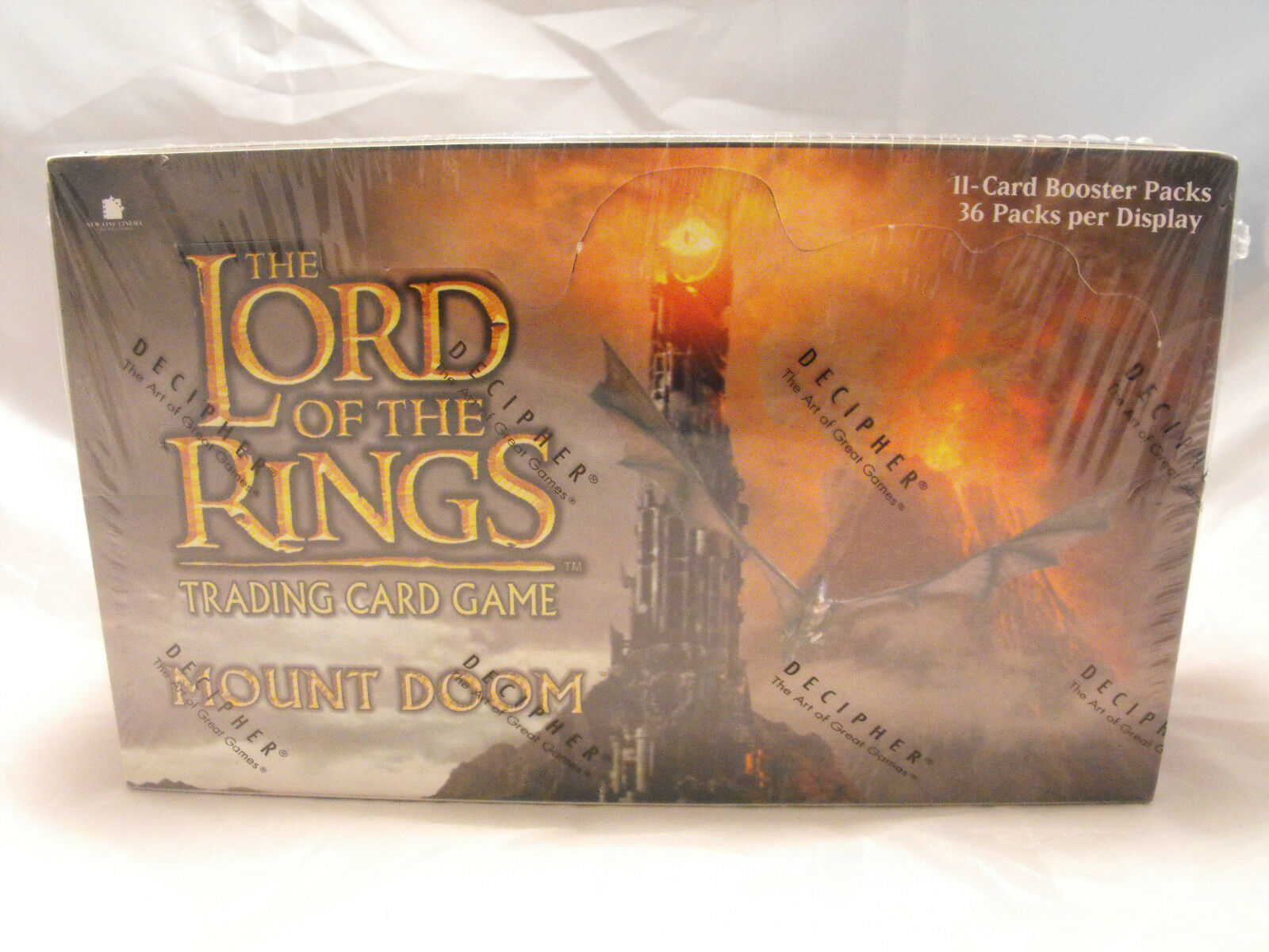 Lord Of The Rings TCG Mount Doom Komplettes Komplettes Komplettes Versiegelt Booster Kasten mit 36 35f66e