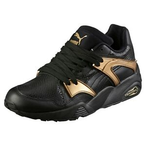 701afe3d04f1 Women s Trinomic Blaze Gold Trainers Black   362022-01   W Puma ...