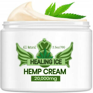 Rich Extra Strength Hemp Seed Pain Relief Cream 20,000mg ~ 2.5 oz Jar