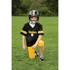 YOUTH MEDIUM Pittsburgh Steelers NFL UNIFORM SET Game Day Jersey Costume Age 7-9