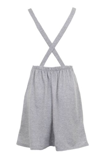 Women/'s New Cross Strap Dungarees Lace Skirt Sleeveless Ladies Dress