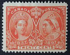 CKStamps: Canada Stamps Collection Scott#59 20c Jubilee Mint HR OG CV$275